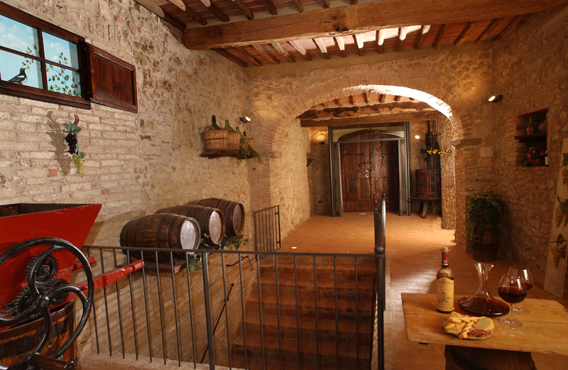 Siena holidays home for Piccole planimetrie con cantine